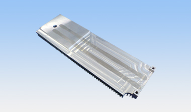 Heatpipe heat sink