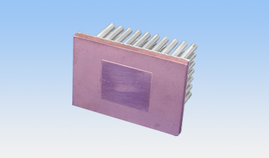 Copper coated heatsink