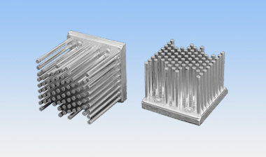 Square heat sink